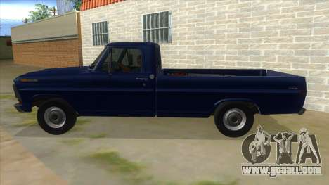 Ford F-100 1970 for GTA San Andreas left view