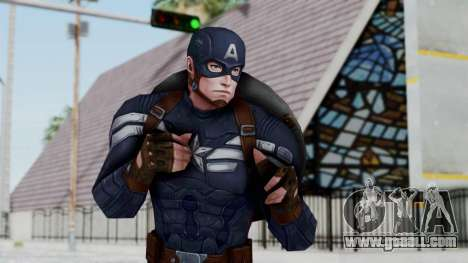Marvel Future Fight - Captain America for GTA San Andreas