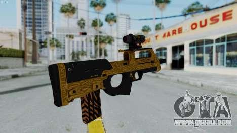 GTA 5 Online Lowriders DLC Assault SMG for GTA San Andreas third screenshot