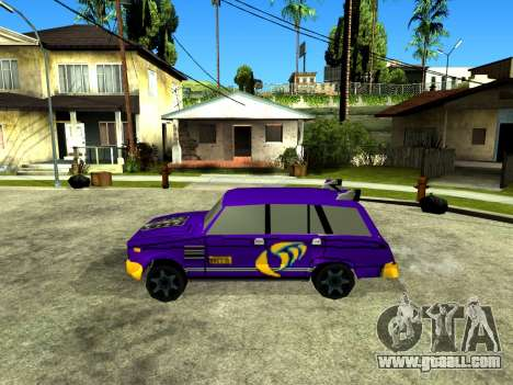 VAZ 2104 WRC for GTA San Andreas left view