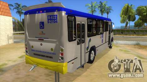 CAMION R622 for GTA San Andreas inner view