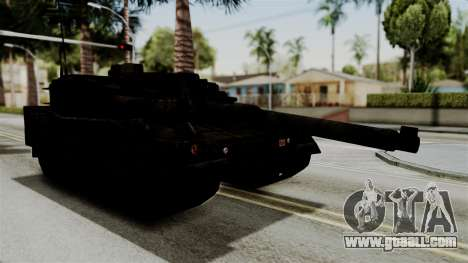 Point Blank Black Panther Rusty for GTA San Andreas back left view