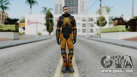Gordon Freeman Skin for GTA San Andreas second screenshot