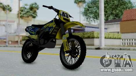 GTA 5 Atomic Sanchez for GTA San Andreas