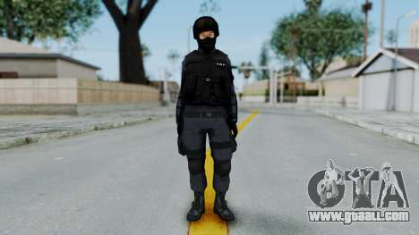S.W.A.T v3 for GTA San Andreas second screenshot
