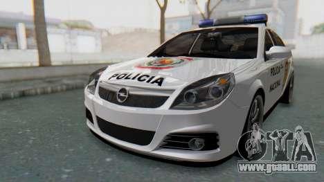 Opel Vectra 2005 Policia for GTA San Andreas
