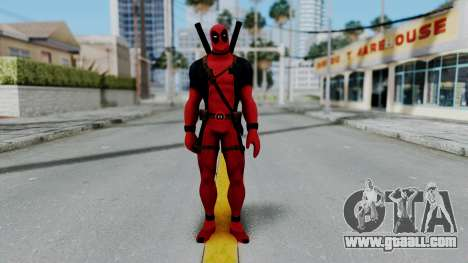Marvel Heroes - Deadpool for GTA San Andreas second screenshot