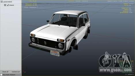 GTA 5 VAZ-2121 Lada Niva right side view