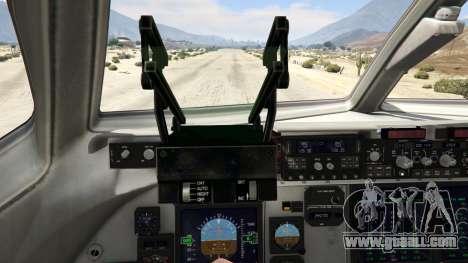 GTA 5 C-17A Globemaster III v.1.1 fourth screenshot