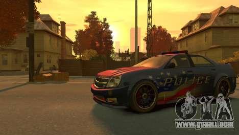 Albany Police Stinger for GTA 4 left view