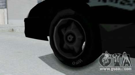 Hotring Jester for GTA San Andreas back left view