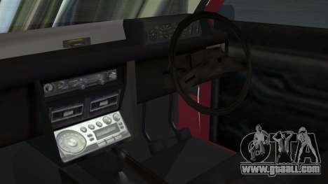 Proton Iswara 1985 Advanced for GTA San Andreas right view