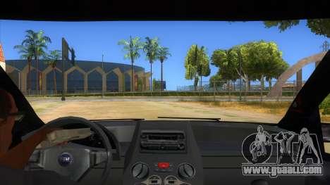 Fiat Panda V3 for GTA San Andreas inner view