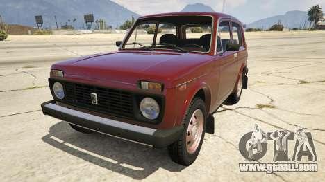 VAZ-2121 Lada Niva for GTA 5
