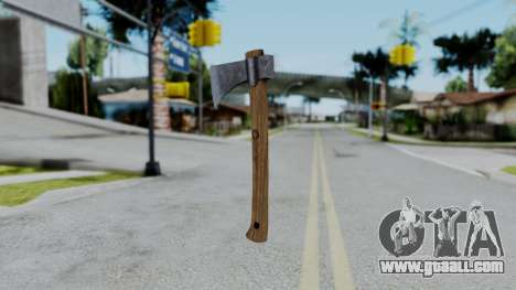 No More Room in Hell - Hatchet for GTA San Andreas second screenshot