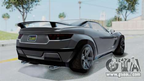 GTA 5 Coil Brawler Coupe IVF for GTA San Andreas left view
