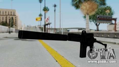9A-91 Kobra and Suppressor for GTA San Andreas