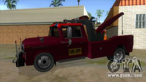 Chevrolet Towtruck 1954 for GTA San Andreas left view