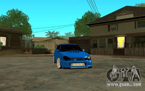 Subaru Impreza WRX STi Wagon 2003 for GTA San Andreas