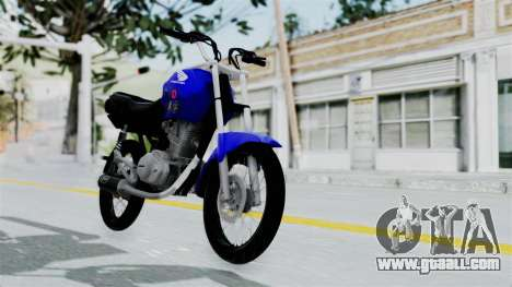 Honda CG Titan 2014 Stunt for GTA San Andreas