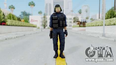 GIGN 1 No Mask from CSO2 for GTA San Andreas second screenshot