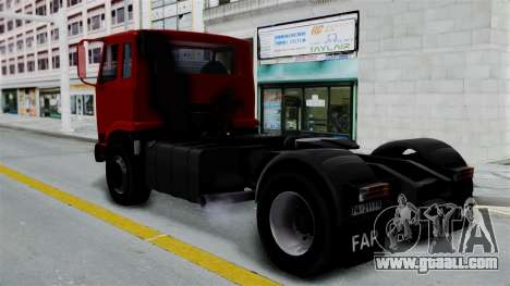 FAP Kamion Stock for GTA San Andreas left view