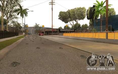 Repair work on Grove Street for GTA San Andreas sixth screenshot