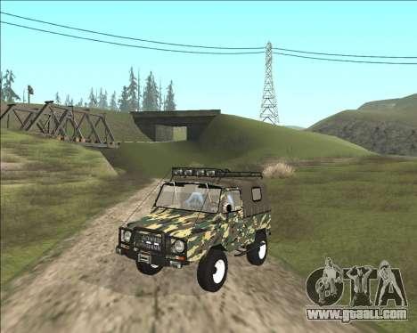 969М LuAZ Off Road for GTA San Andreas