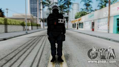 GIGN Gas Mask from Rainbow Six Siege for GTA San Andreas second screenshot