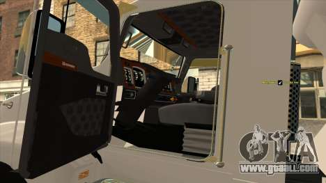 T600 Kenworth Cement Truck for GTA San Andreas right view