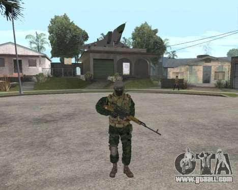 Russian army Skin Pack for GTA San Andreas sixth screenshot