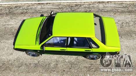 GTA 5 VAZ-21099 back view