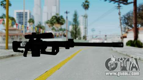 M2000 CheyTac Intervention without Stands for GTA San Andreas second screenshot