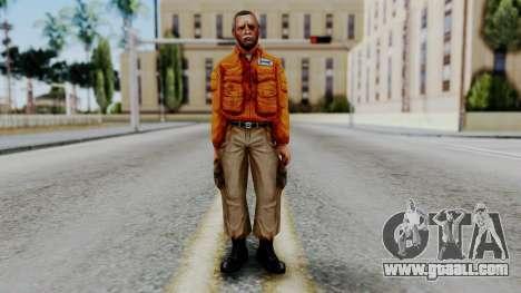 CS 1.6 Hostage 02 for GTA San Andreas second screenshot