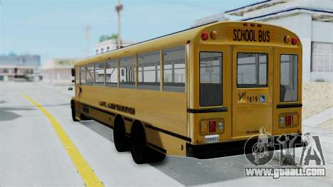 Bus from Life is Strange for GTA San Andreas left view