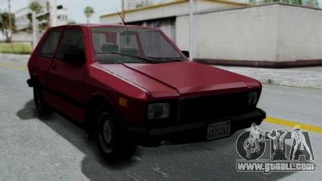 Yugo GV US for GTA San Andreas