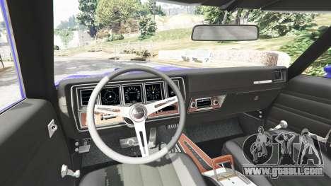 GTA 5 Buick Skylark GSX 1970 rear right side view