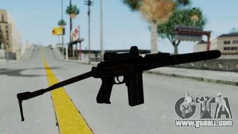 9A-91 Kobra and Suppressor for GTA San Andreas second screenshot