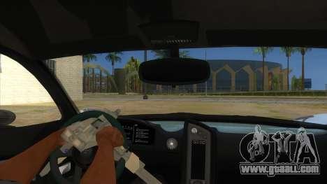 GTA 5 Progen T20 Lights version for GTA San Andreas inner view