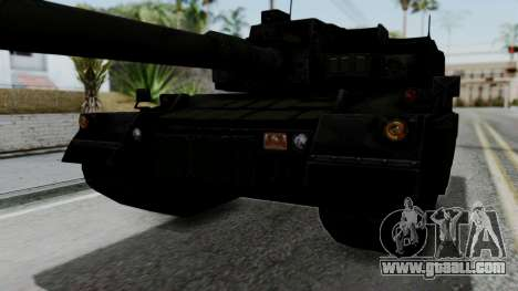 Point Blank Black Panther Woodland IVF for GTA San Andreas side view