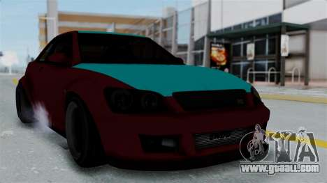 GTA 5 Karin Sultan RS Stock for GTA San Andreas