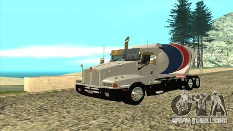 T600 Kenworth Cement Truck for GTA San Andreas