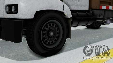 GTA 5 Tipper Second Generation for GTA San Andreas back left view