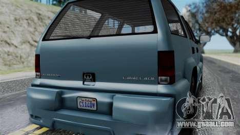 GTA 5 Albany Cavalcade v1 IVF for GTA San Andreas side view