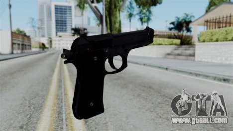 No More Room in Hell - Beretta 92FS for GTA San Andreas second screenshot