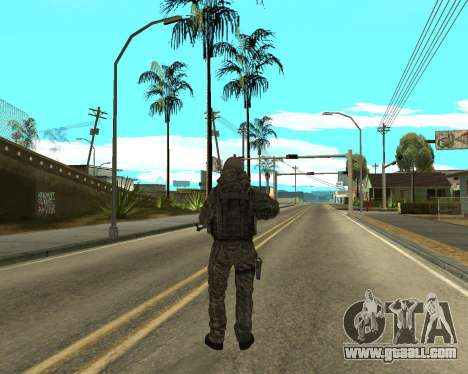 Russian army Skin Pack for GTA San Andreas eighth screenshot