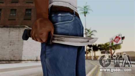 Batman Arkham City - Knife for GTA San Andreas third screenshot