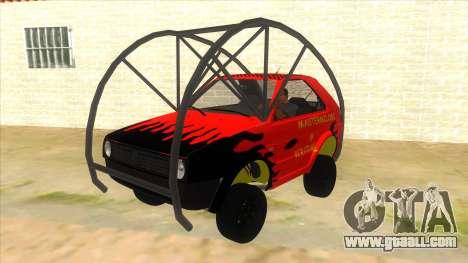 Volkswagen Golf MK2 RollGolf for GTA San Andreas