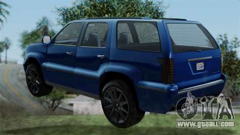 GTA 5 Albany Cavalcade v2 IVF for GTA San Andreas left view