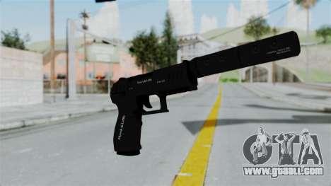 GTA 5 Combat Pistol for GTA San Andreas second screenshot